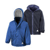 Result R160JY Children's Reversible StormDri 4000 Fleece Jacket Royal Blue / Navy
