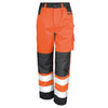 Result Safe-Guard Safety Cargo Trousers Hi-Vis Orange