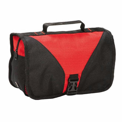 Shugon Bristol Folding Travel Toiletry Bag Red / Black