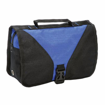 Shugon Bristol Folding Travel Toiletry Bag Royal / Black