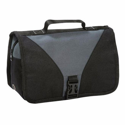 Shugon Bristol Folding Travel Toiletry Bag Dark Grey / Black
