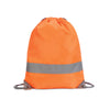 Shugon Hi-Vis Stafford Drawstring Tote Backpack Hi-Vis Orange