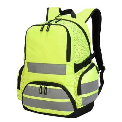 Shugon London Pro Hi-Vis Backpack Hi-Vis Yellow