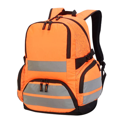 Shugon London Pro Hi-Vis Backpack Hi-Vis Orange