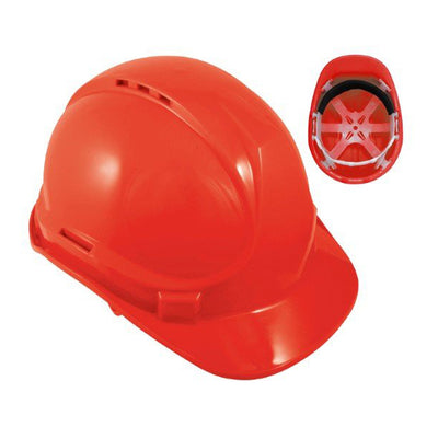 Blackrock 6 Point Safety Hard Hat Red