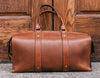 1920 Overnight Duffel Bag (Burnt Timber Leather) - The Speakeasy Leather Co