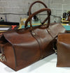 1933 Weekender Duffel Bag (Rio Latigo Leather) - The Speakeasy Leather Co
