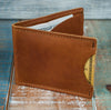 3-Slot Front Pocket Card Sleeve Wallet - 21st Amendment (Rio Latigo Leather) - The Speakeasy Leather Co