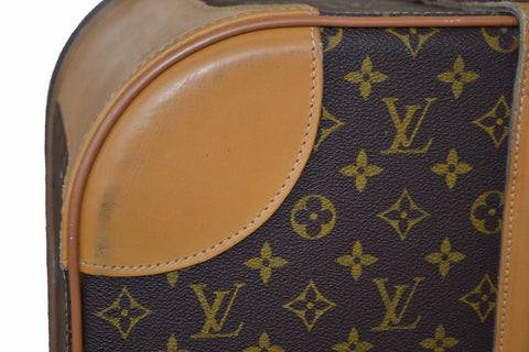 Authentic Louis Vuitton Classic Monogram Suitcase Travel Bag