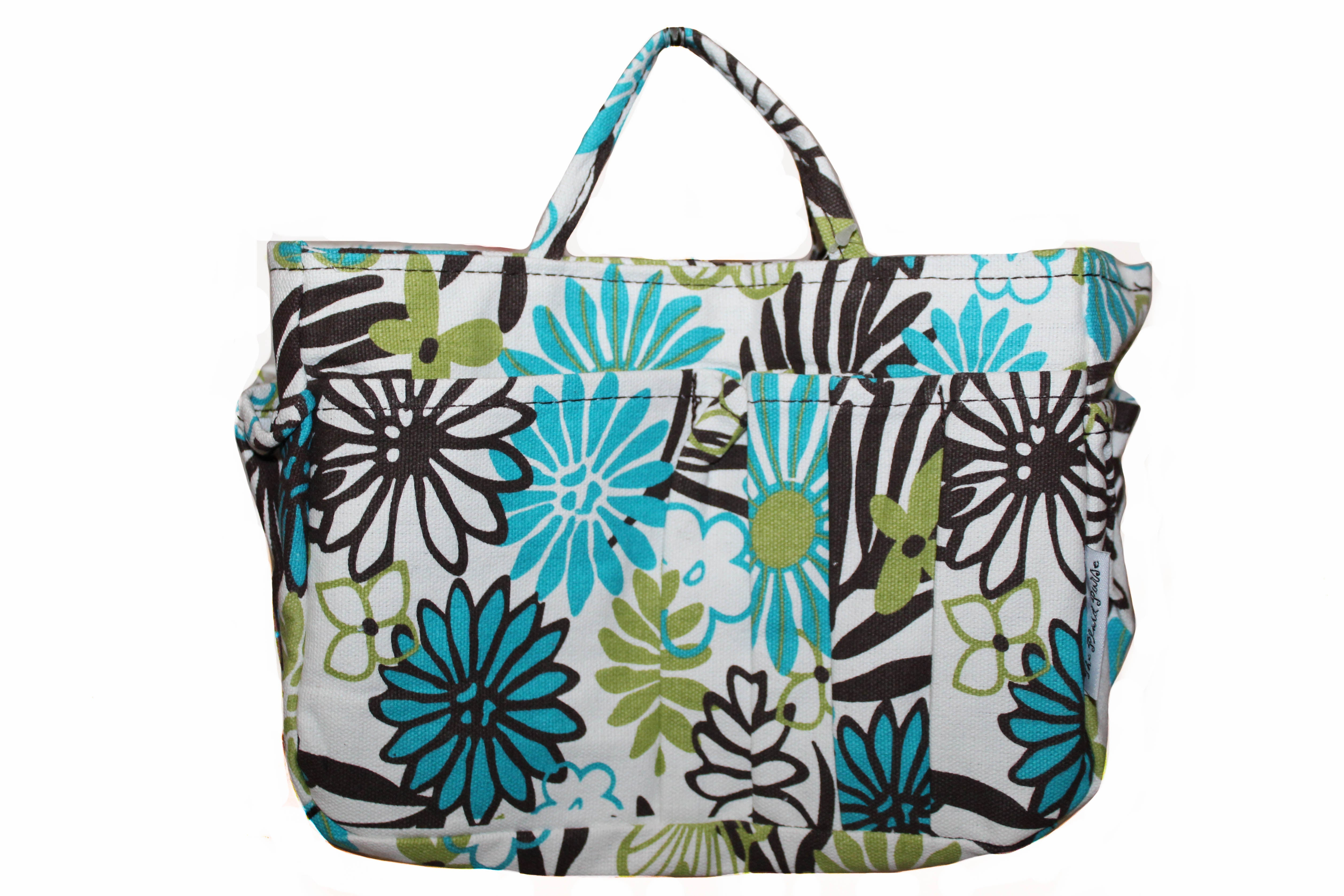 New Multicolor Flower Print Small Organizer
