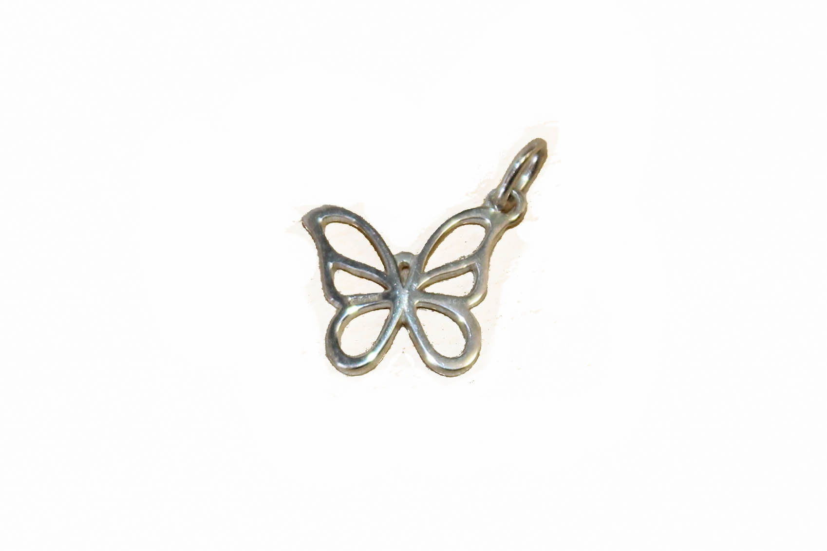 Authentic Tiffany & Co. Sterling Silver Butterfly Pendant