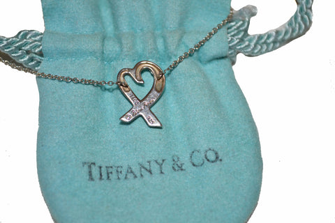 Authentic Tiffany & Co. Paloma Picasso Loving Heart 16.5