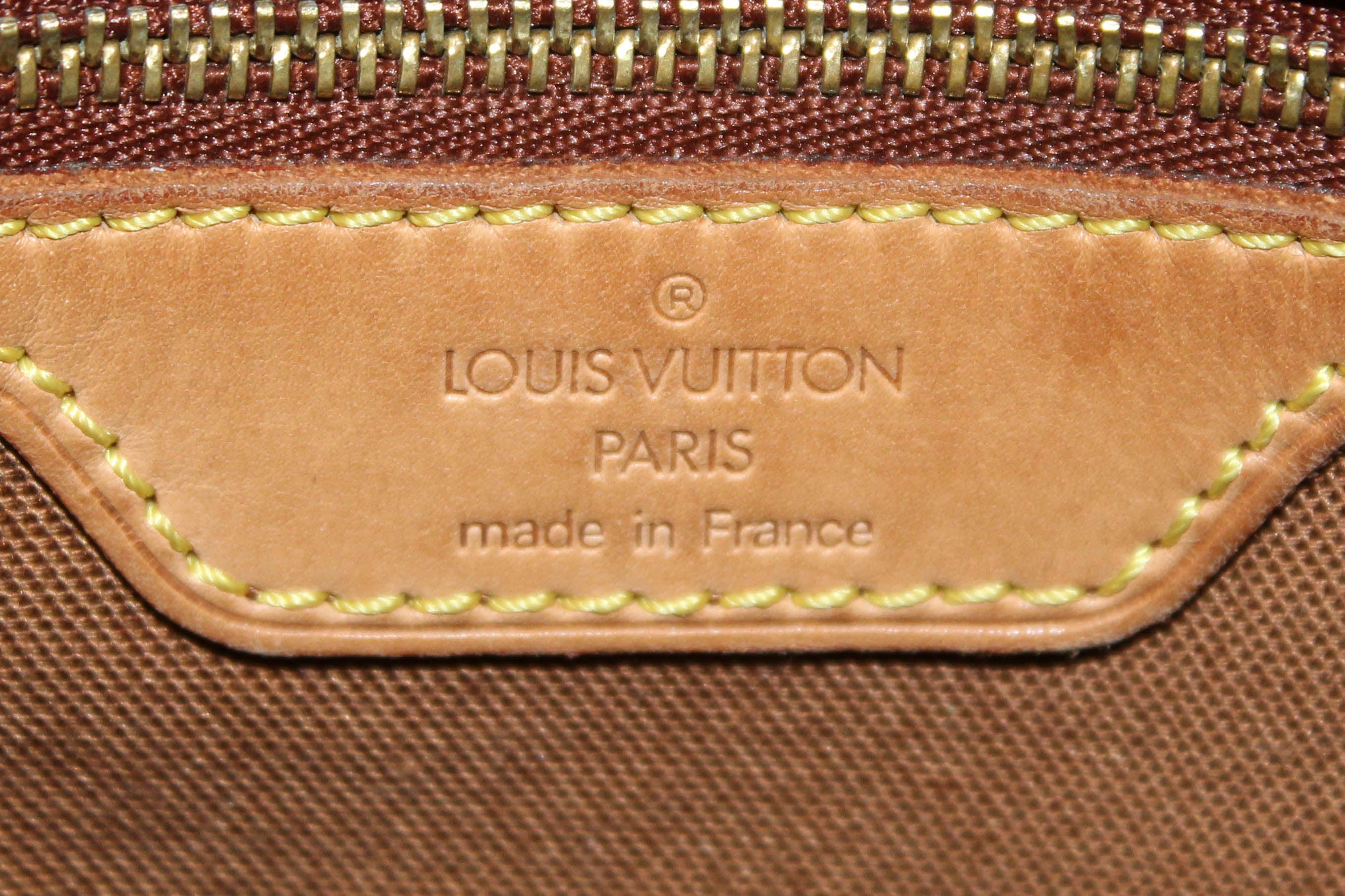 Authentic Louis Vuitton Classic Monogram Abbesses Messenger Bag