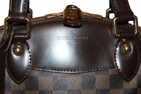 Authentic Louis Vuitton Damier Ebene Verona PM Handbag