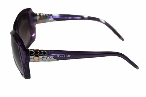 Authentic BVLGARI Violet Transparent Sunglasses