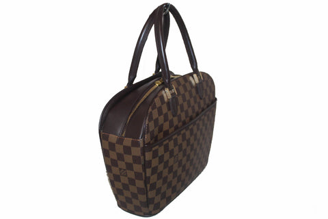 Authentic Louis Vuitton Damier Ebene Sarria Hand Bag