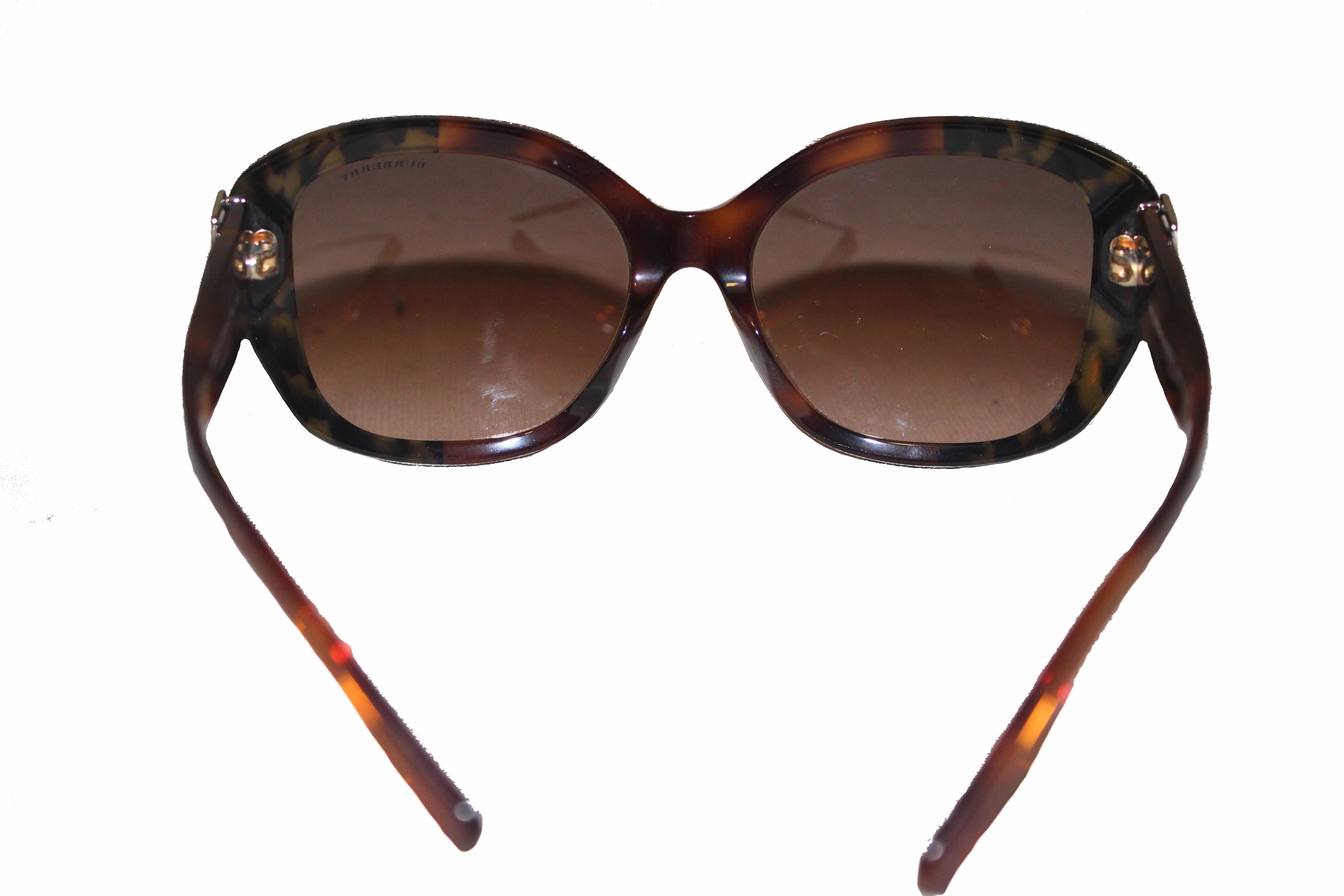 Authentic Burberry Brown B4248 Gradient Sunglasses