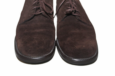 Authentic Salvatore Ferragamo Sport Brown Suede Leather Dress Shoes 5.5 B