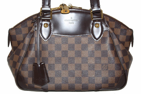 Authentic Louis Vuitton Damier Ebene Verona PM Shoulder Bag
