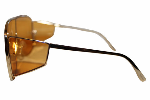 Authentic New Tom Ford TF708 33E Spector Shield Sunglasses