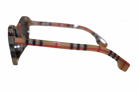 Authentic New Burberry Sunglasses B4283-F 3778/3 Vintage Check Sunglasses