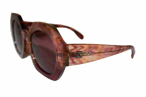 Authentic Chanel Dark Tortoise Butterfly Sunglasses S4984