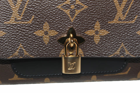 Authentic Louis Vuitton Monogram Flower Compact Wallet