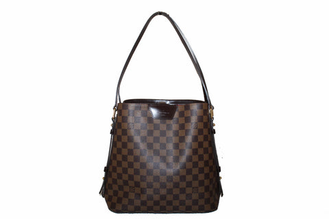 Authentic Louis Vuitton Damier Ebene Cabas Rivington GM Tote Bag