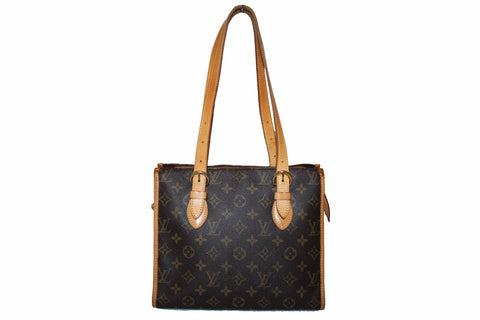 Authentic Louis Vuitton Classic Monogram Popincourt Haut Tote Bag