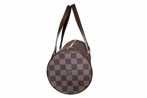 Authentic Louis Vuitton Damier Ebene Papillon 26 Handbag