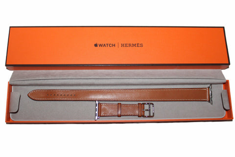 Authentic Hermes Apple Watch Bracelet Double Tour 38mm
