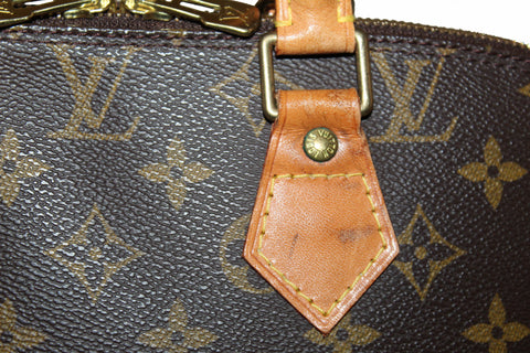 Authentic Louis Vuitton Classic Monogram Alma PM Handbag