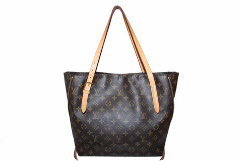 Authentic Louis Vuitton Classic Monogram Voltaire Tote Shoulder Bag