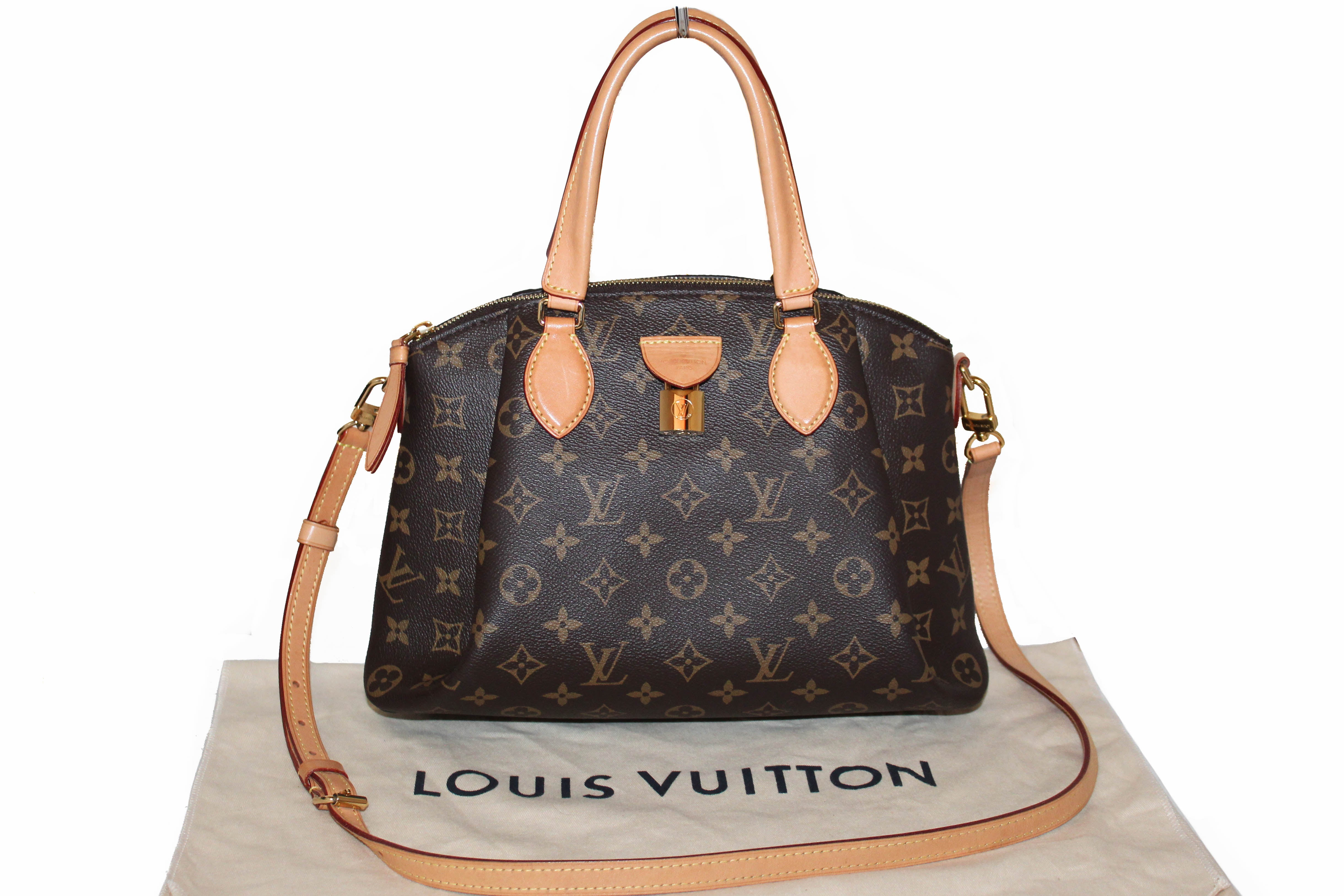 Authentic Louis Vuitton Classic Monogram Rivoli PM Hand/Crossbody Bag