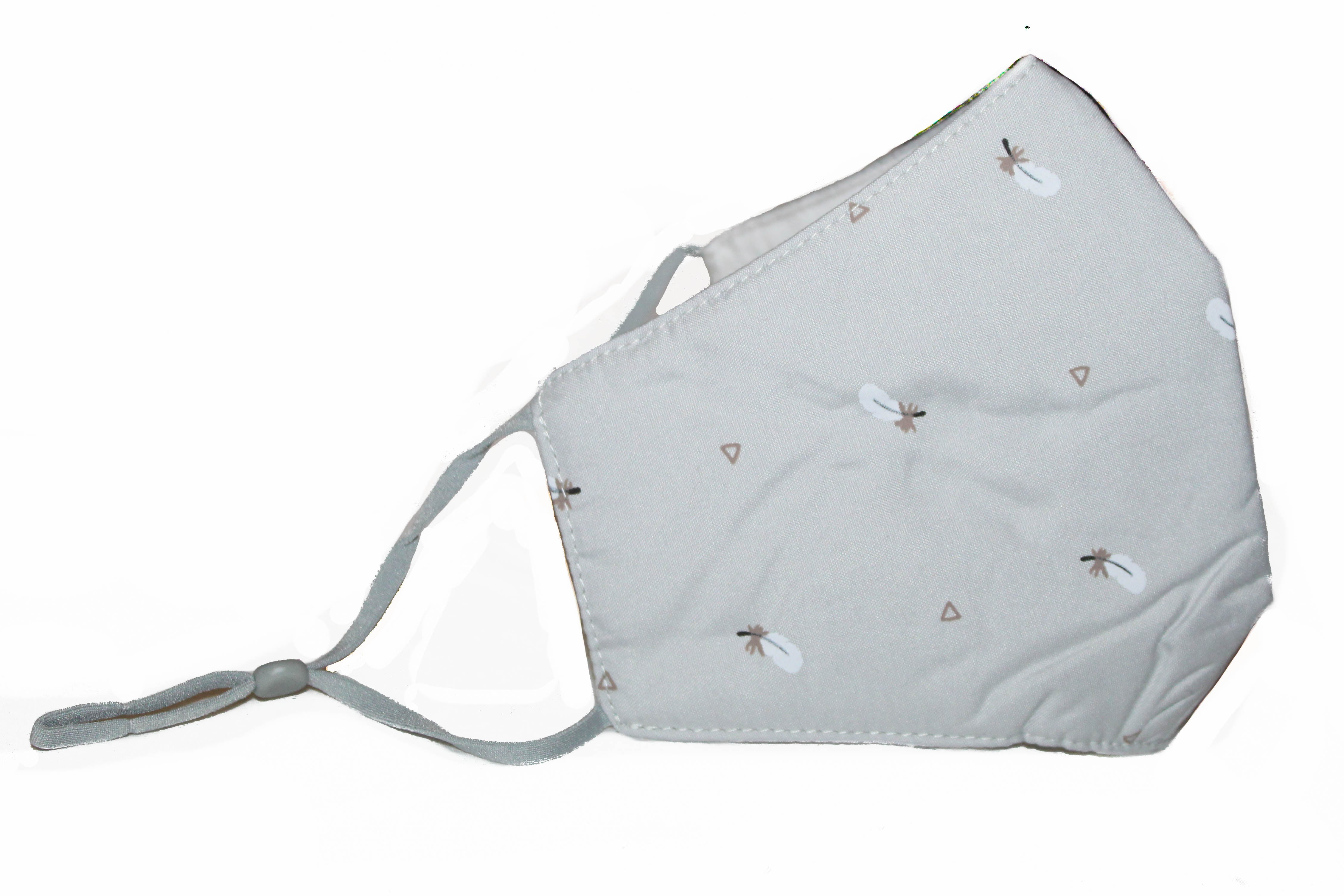 Non Medical Grey Light Weight & Comfortable Wear Face Mask/Covering