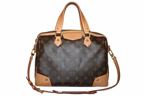 Authentic Louis Vuitton Classic Monogram Retiro PM Handbag/Shoulder Bag