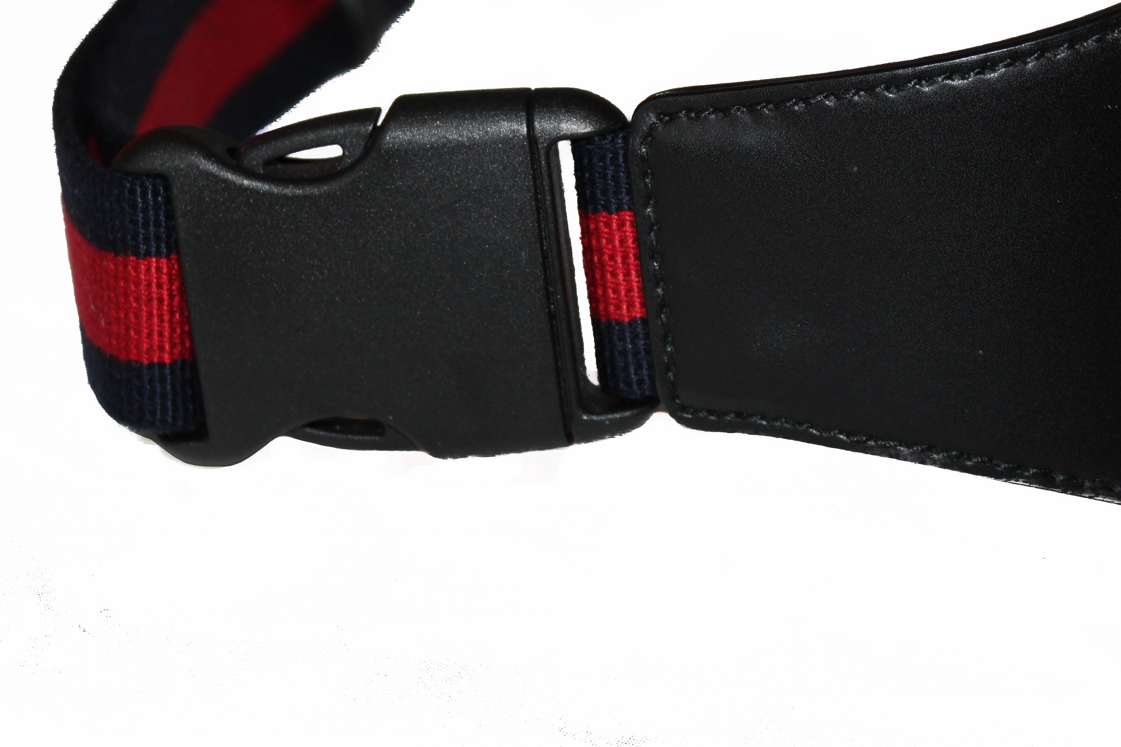 Authentic Gucci Black Belt Bag