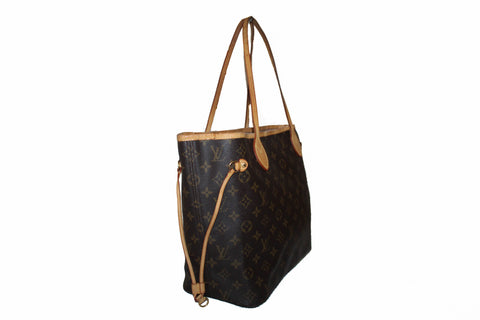 Authentic Louis Vuitton Monogram Neverfull MM Tote Bag