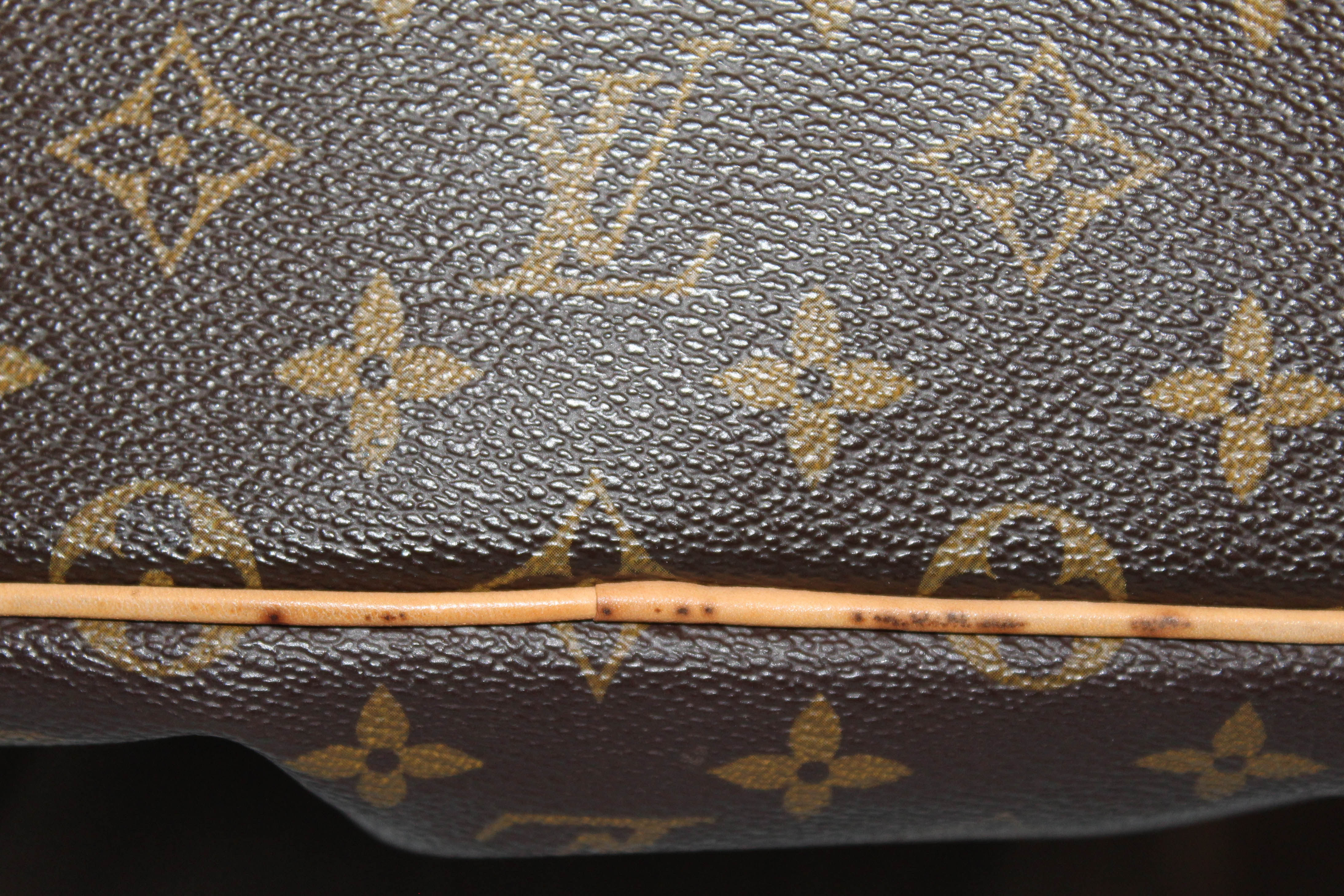 Authentic Louis Vuitton Monogram Canvas Palermo PM Handbag