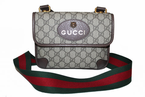 Authentic Gucci Neo Vintage Small Messenger Bag