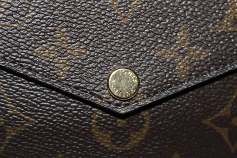 Authentic New Louis Vuitton Classic Monogram Felicie Pochette Bag