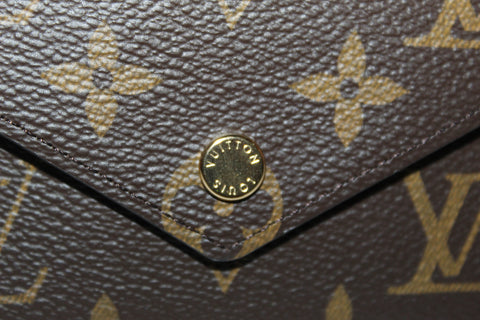 Authentic New Louis Vuitton Classic Monogram Victorine Wallet