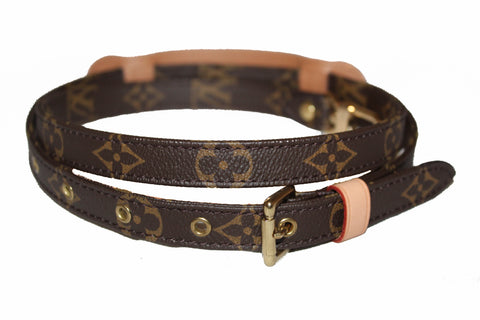 Authentic New Louis Vuitton Classic Monogram Adjustable Shoulder Strap 16 MM