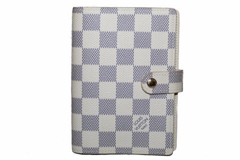 Authentic Louis Vuitton Damier Azur Agenda PM