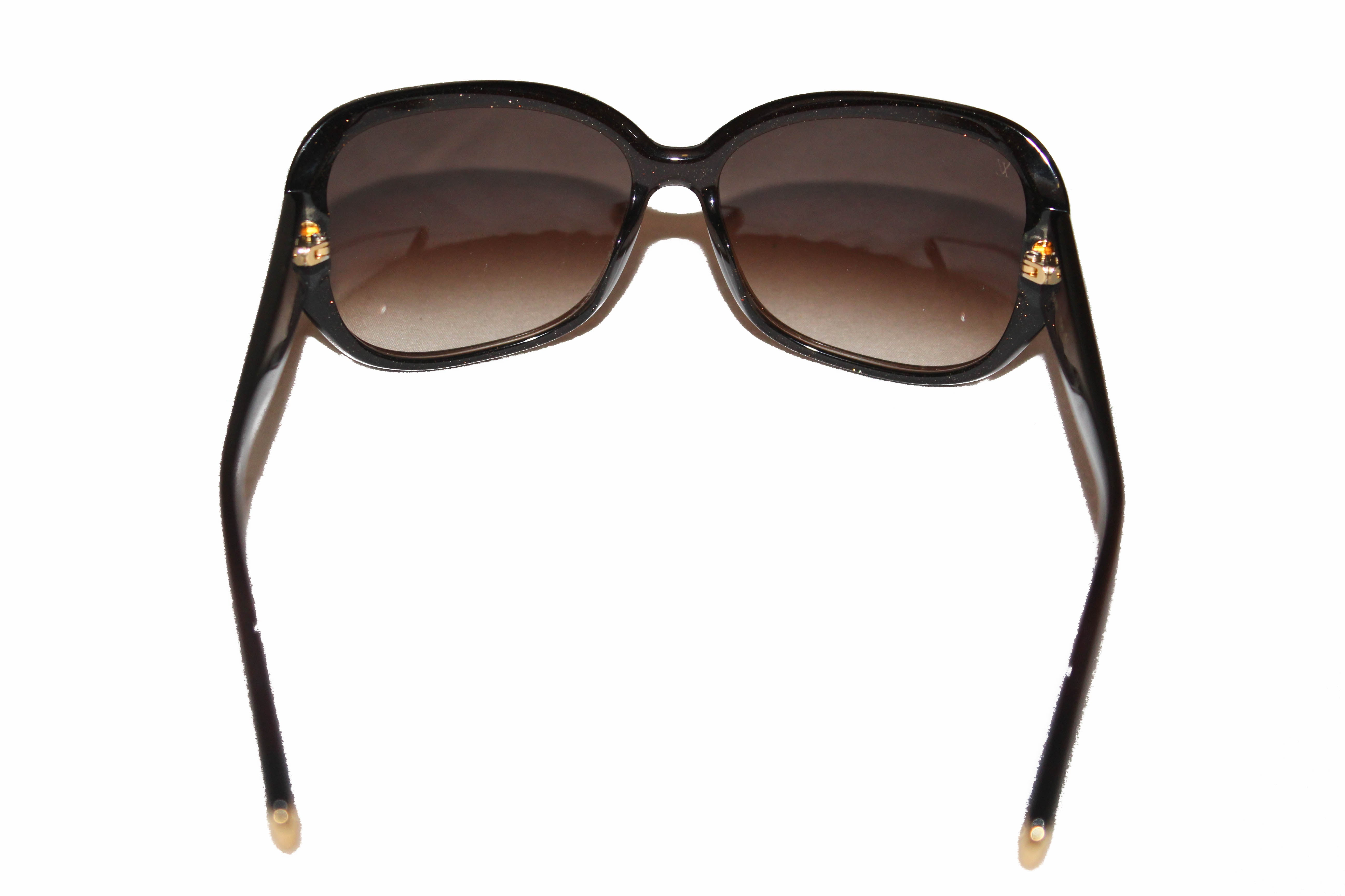 Authentic Louis Vuitton Brown Glitter Obsession Sunglasses