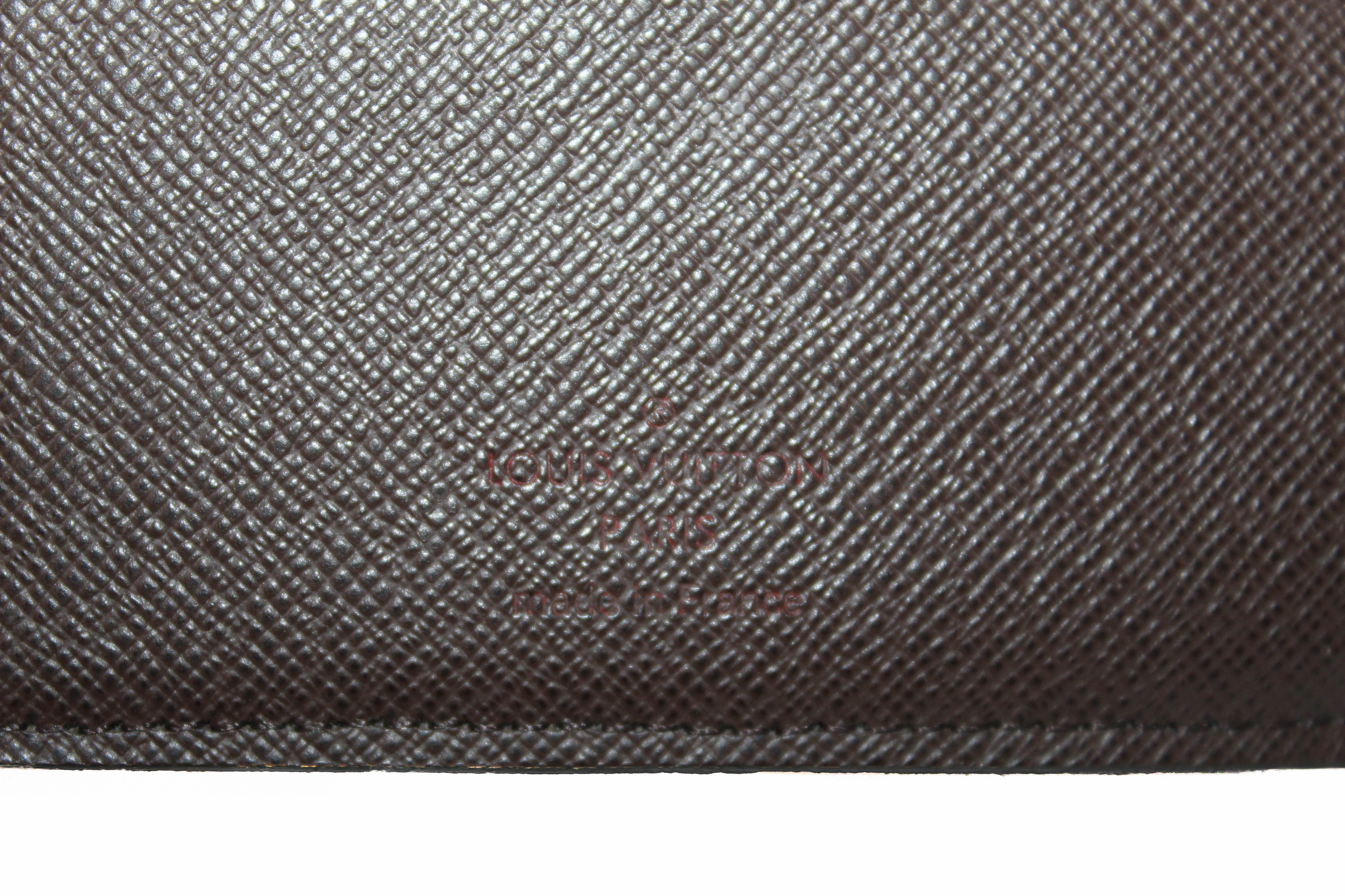 Authentic Louis Vuitton Damier Ebene Multiple Men's Wallet