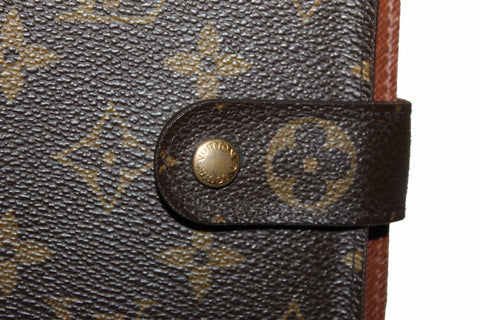 Authentic Louis Vuitton Classic Monogram Large Compact Wallet