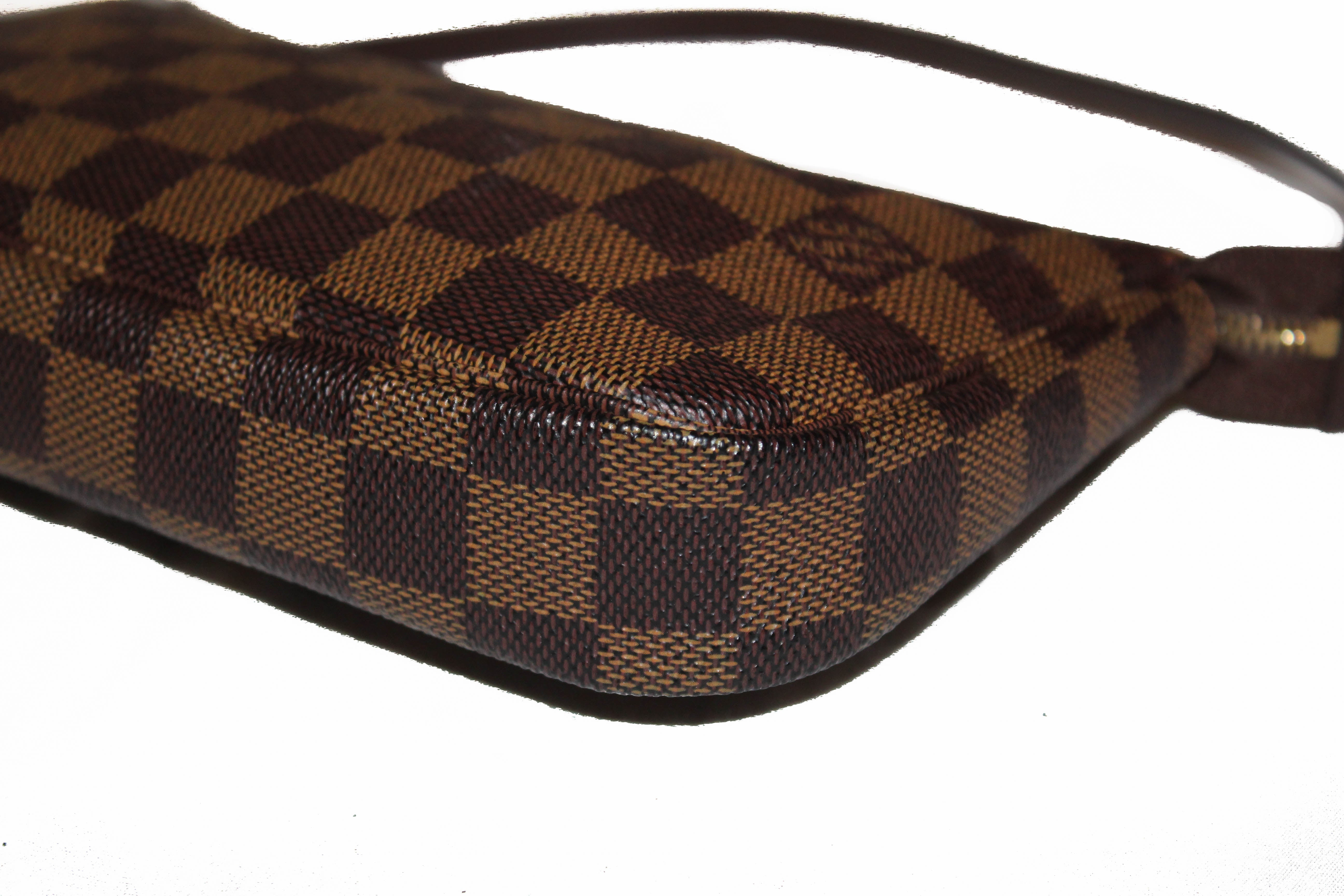 Authentic Louis Vuitton Damier Ebene Pochette Accessoires