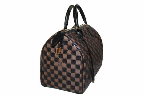 Authentic New Louis Vuitton Limited Edition Damier Paillettes Speedy 30 Bag
