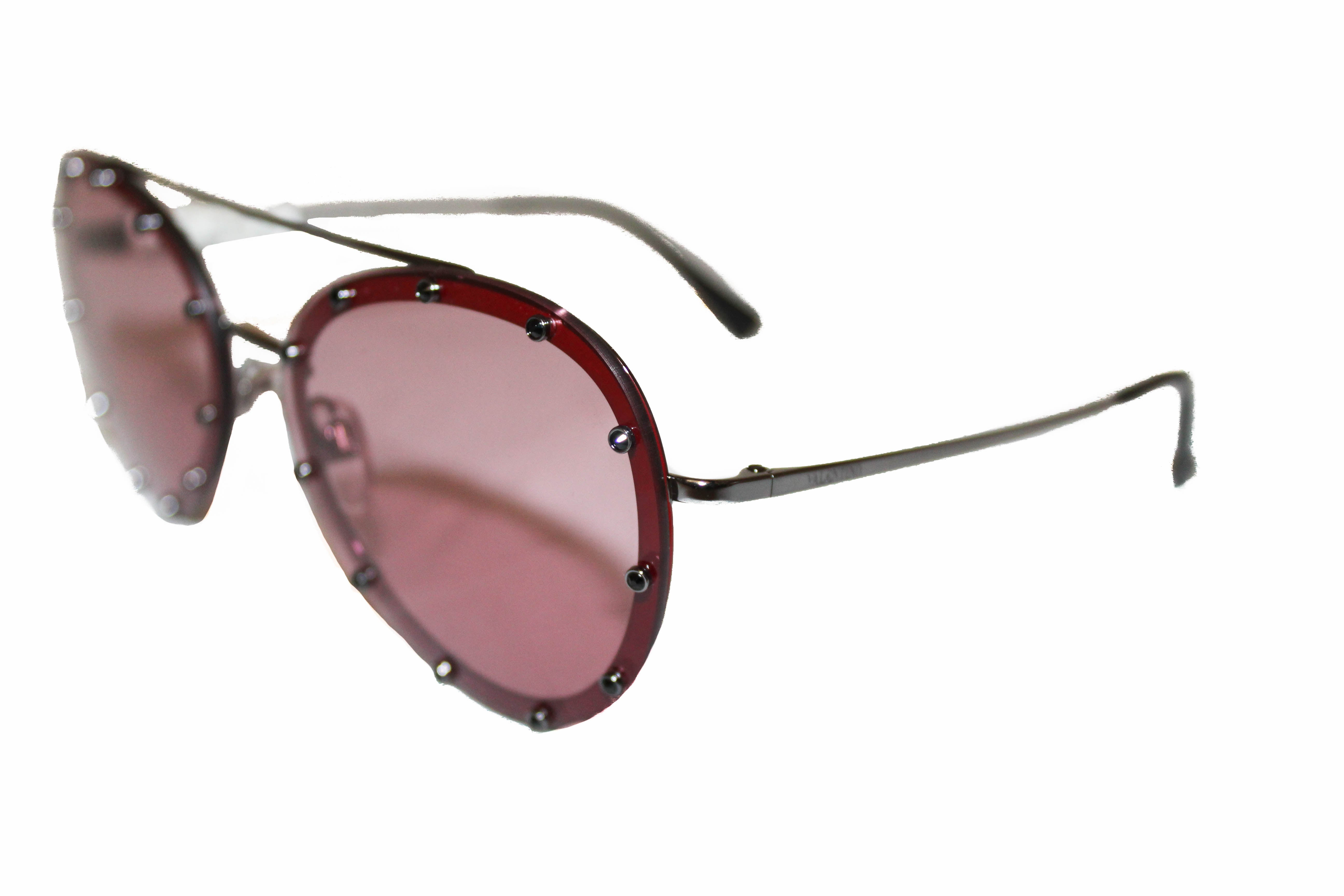 Authentic New Valentino Red Women's Sunglasses VA2013